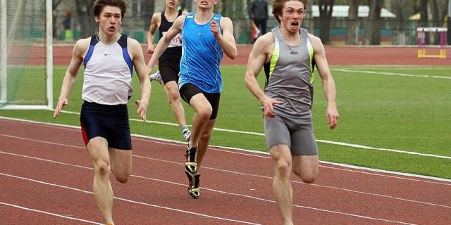 Фото спринтерского бега