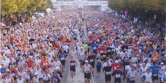 Крупный марафонский забег