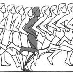 Беговой шаг: правила и дистанция