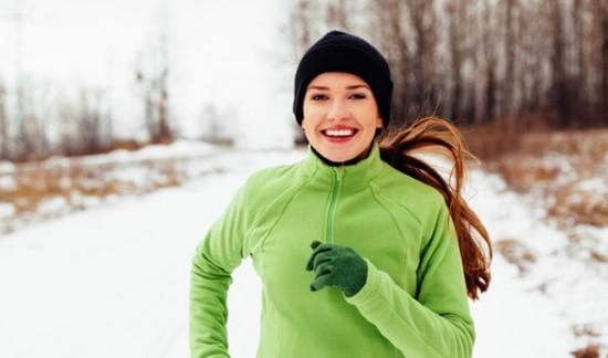 бег зимой - как правильно