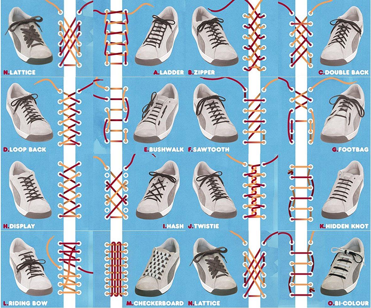Как сделать так чтобы не развязывались шнурки