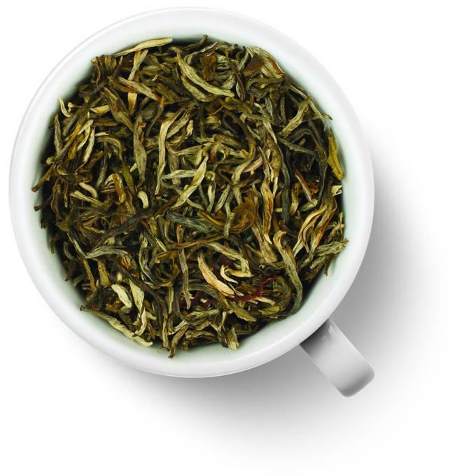 чай с лепестками жасмина